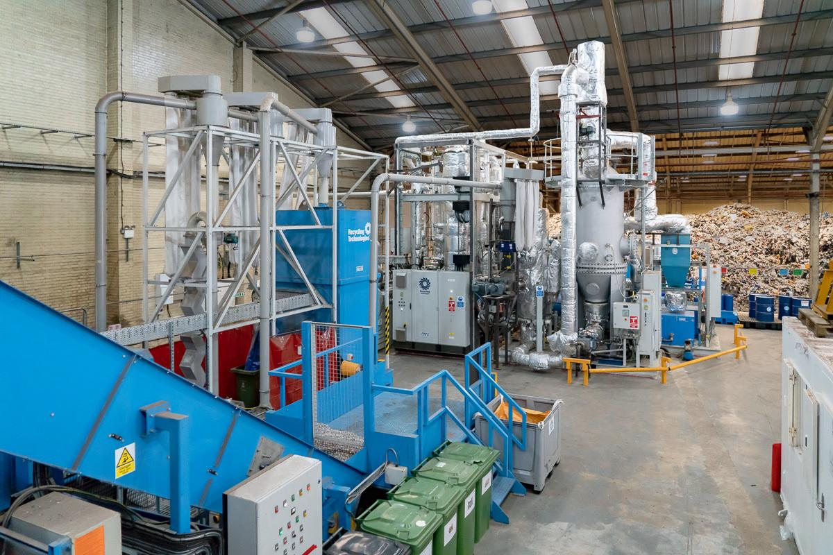 Recycling Technologies turns plastic into renewable oil