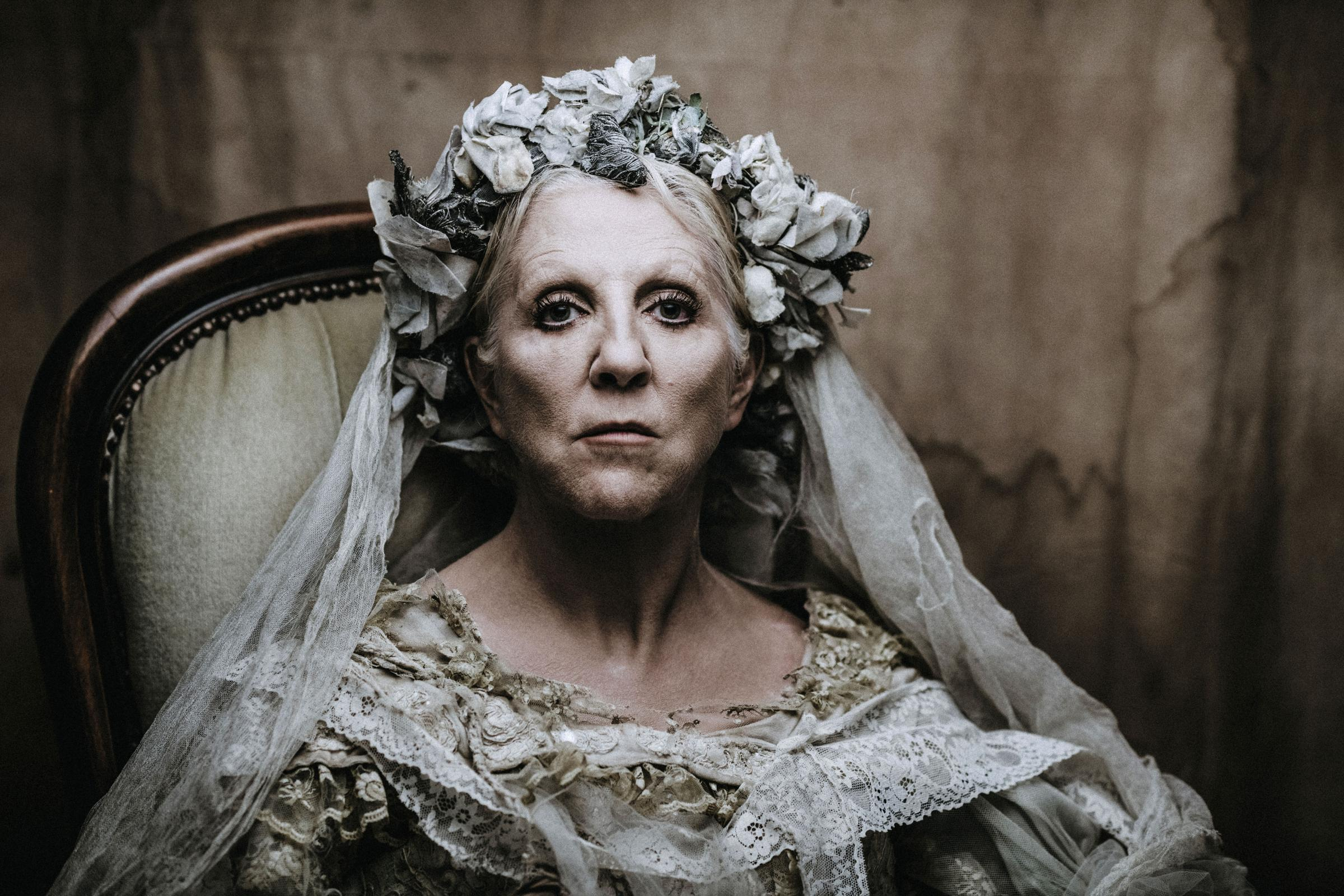 Nichola McAuliffe as Miss Havisham. Picture by Matt Austin