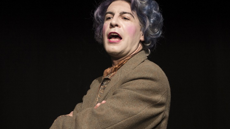 Quentin Crisp in Naked Hope