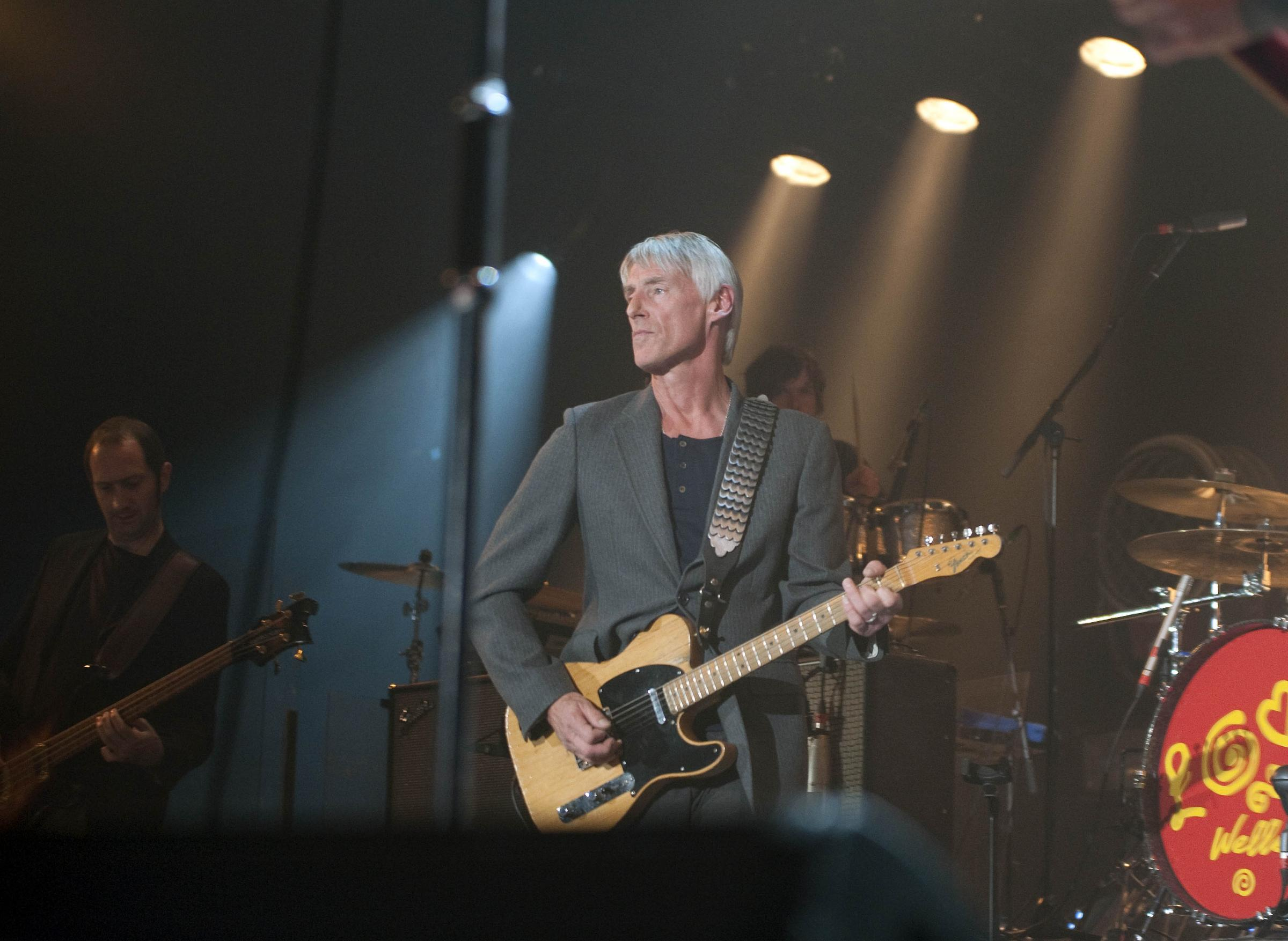Paul Weller is 60 today. He is pictured on stage during his concert at the Oasis in Swindon in 2015