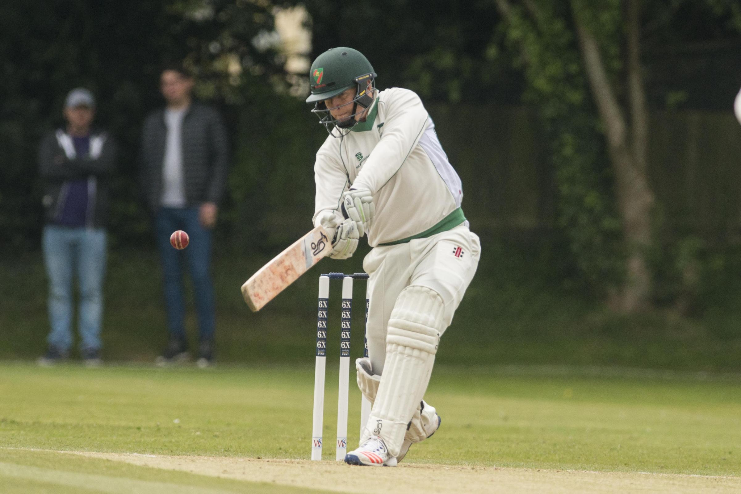 Wiltshire v Bedfordshire .Pictured Batting Wiltshire - Tom Morton.CG194-007.07/05/17.Pictures Clare Green/ www.claregreenphotography.com.