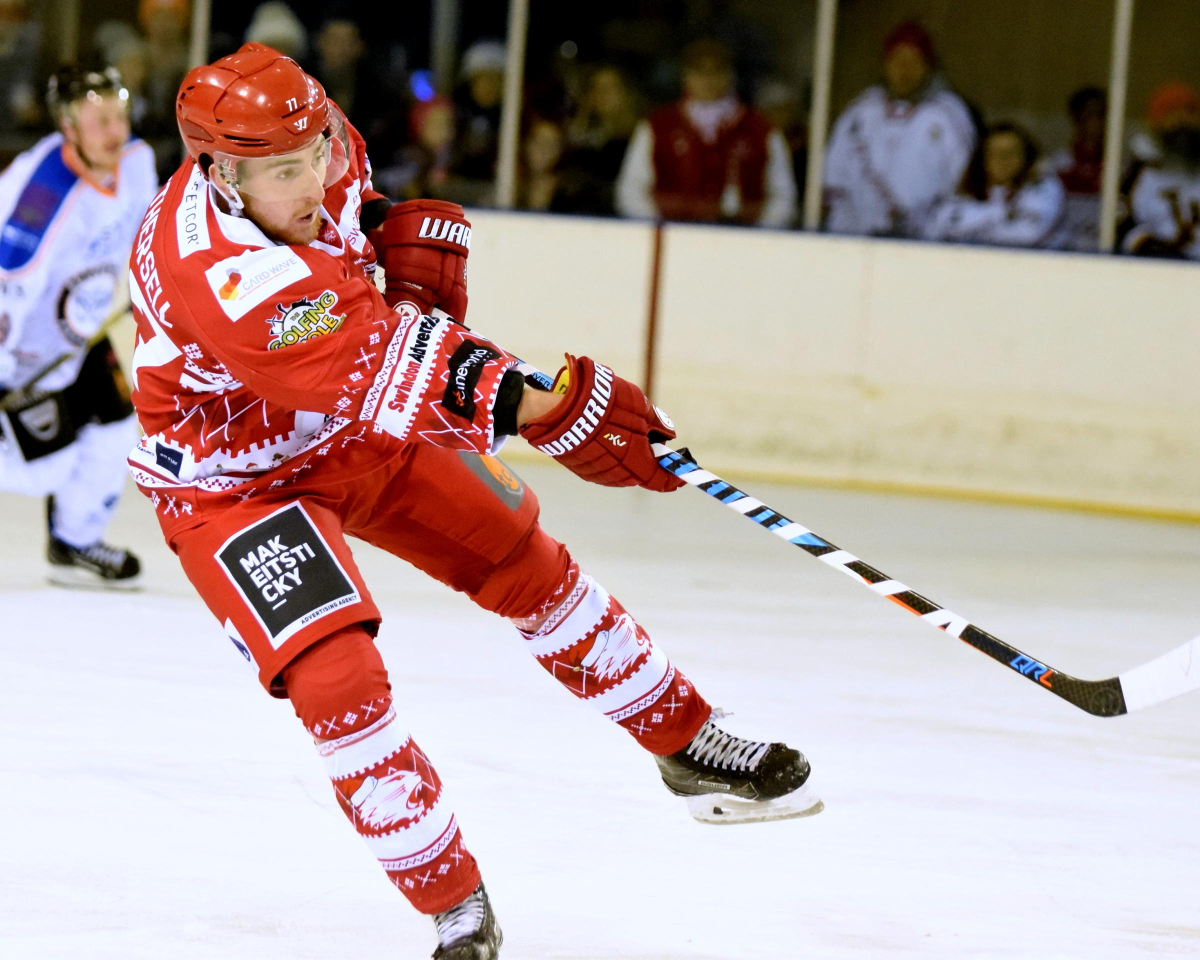 Ben Nethersell has agreed a new deal with the Swindon Wildcats for the 2018-19 season. Picture: NICKY PEARCE