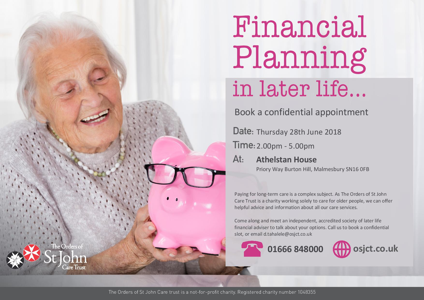 Financial Planning in Later Life
