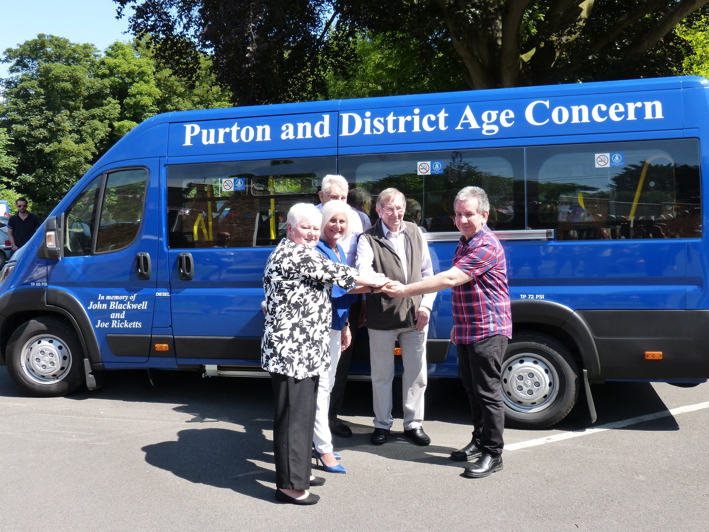 Purton and District Age Concern acquires new minibus