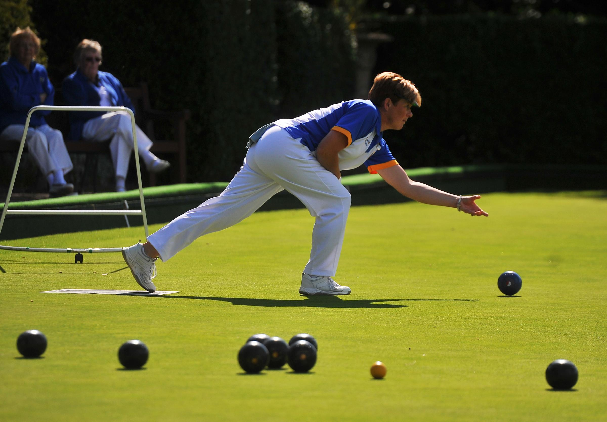 Swindon & District Womens Bowls finals , at Westlecott Bowls Club..Pic - Alison Fail.Date 6/9/15.Pic - By Dave Cox.