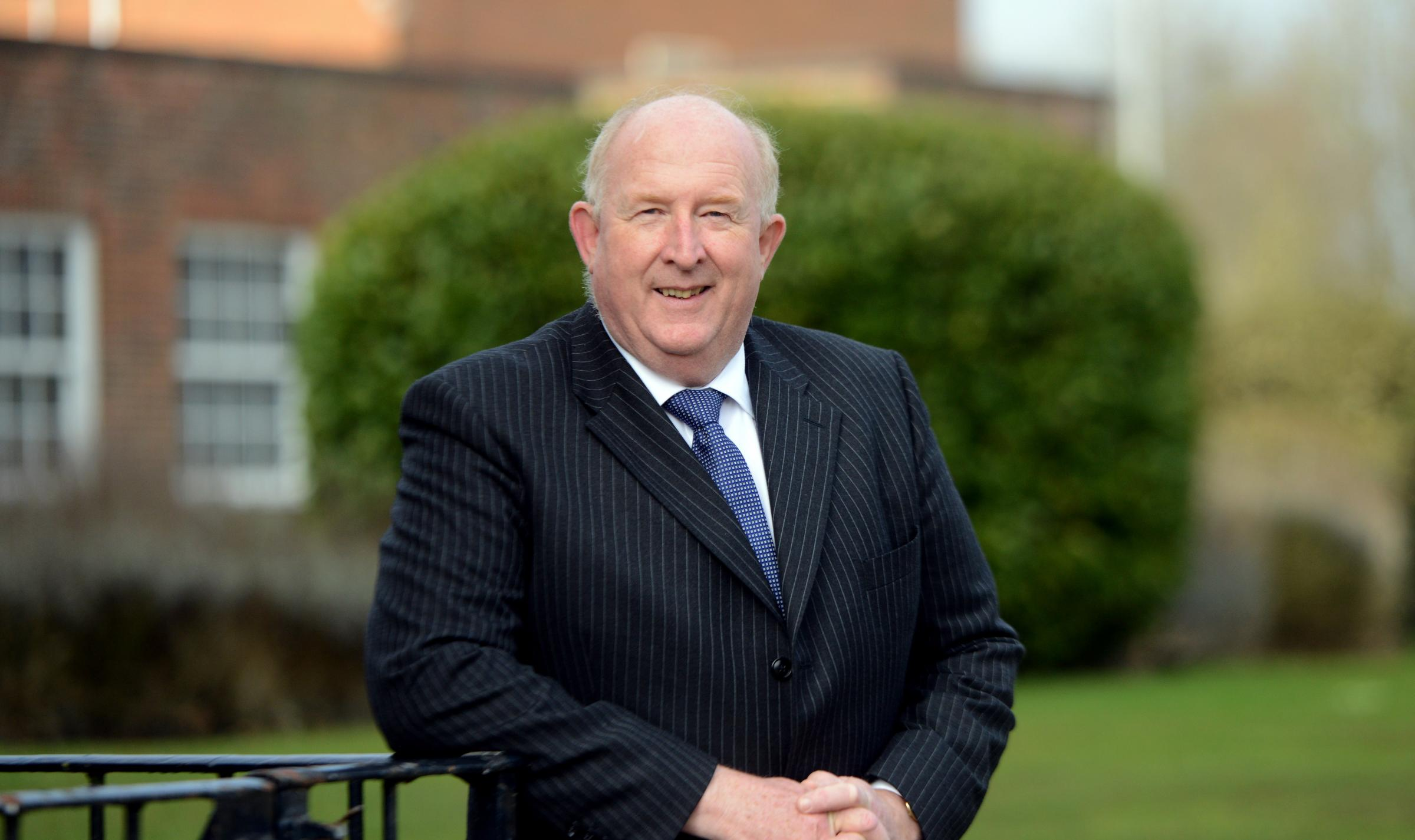 Angus Macpherson, police and crime commissioner, ruled out a merger with other forces.