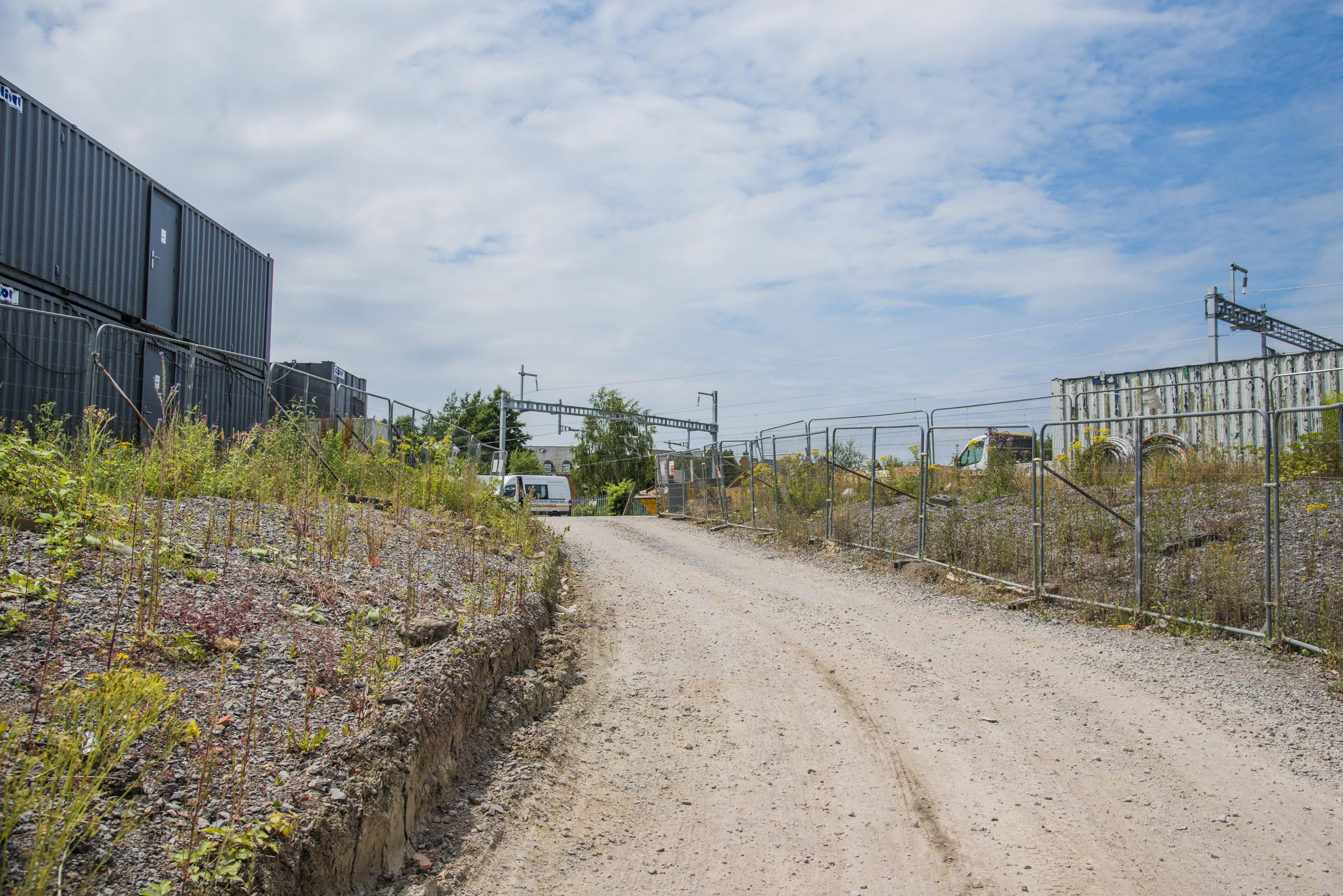 Developers are in discussion about homes on land behind Dean Street. Picture: THOMAS KELSEY