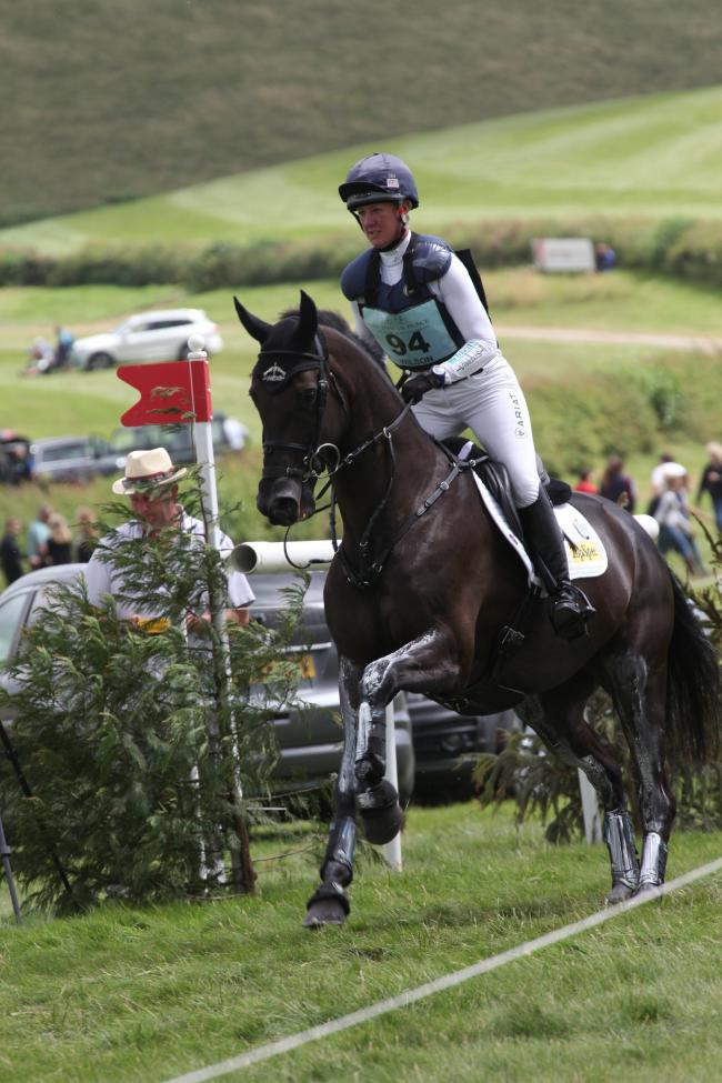 Nicola Wilson and Bulana led the CIC*** Section B after the opening day at Barbury