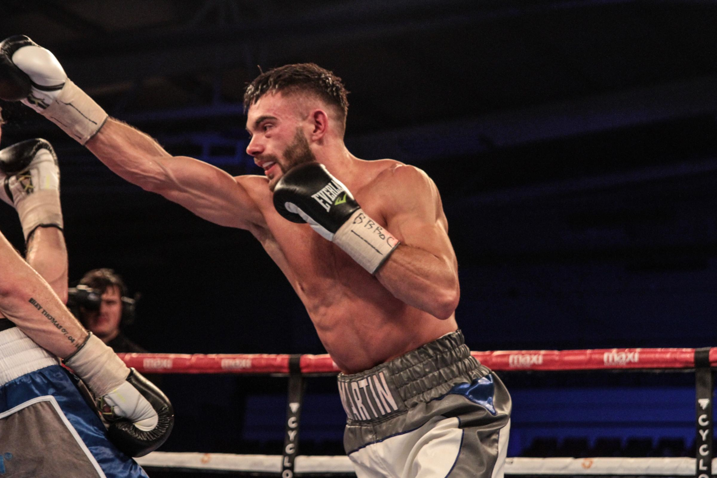 Ryan Martin was a weekend winner in Bristol and could return to the ring in September