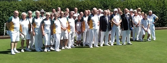 Swindon & District held Haydon Wick Bowls Club celebrate their 25th anniversary
