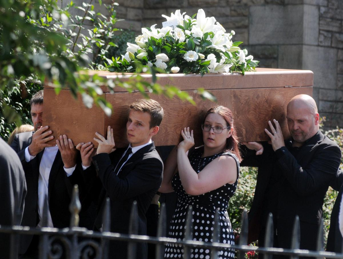 Hundreds Attend Funeral Of Tragic Former Bury And Ramsbottom