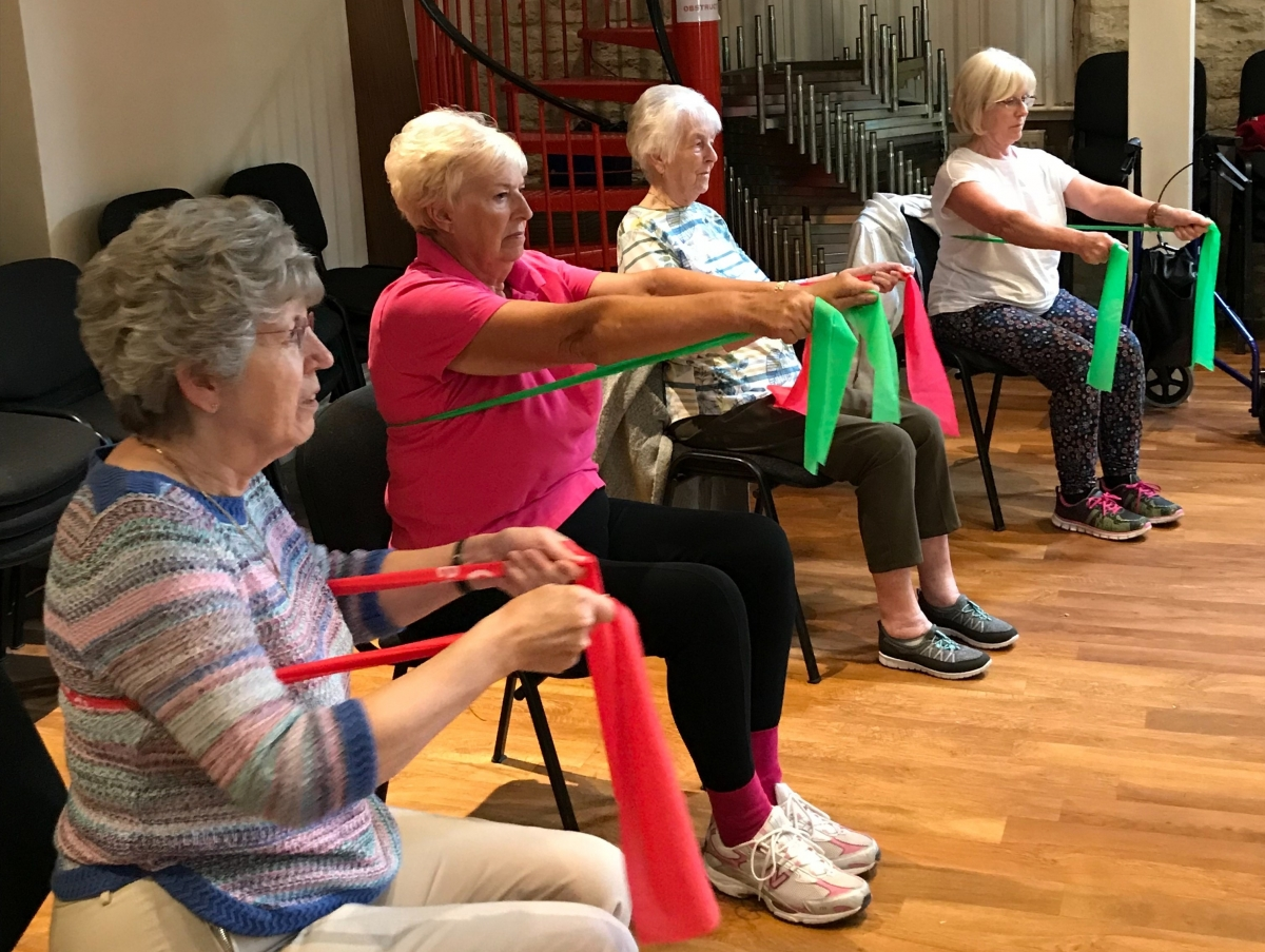 Introduction to Fitness & Friendship Club for older people