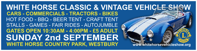 White Horse Classic & Vintage Vehicle show