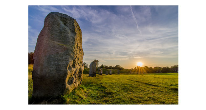 Simon Baker won last year's VisitWiltshire/Newsquest competition with  Avebury Sunset