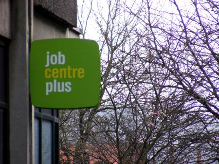 The job centre are recruting new staff due to the increase in unemployed people. Picture by Chloe Peirce, 15, Ridgeway School.