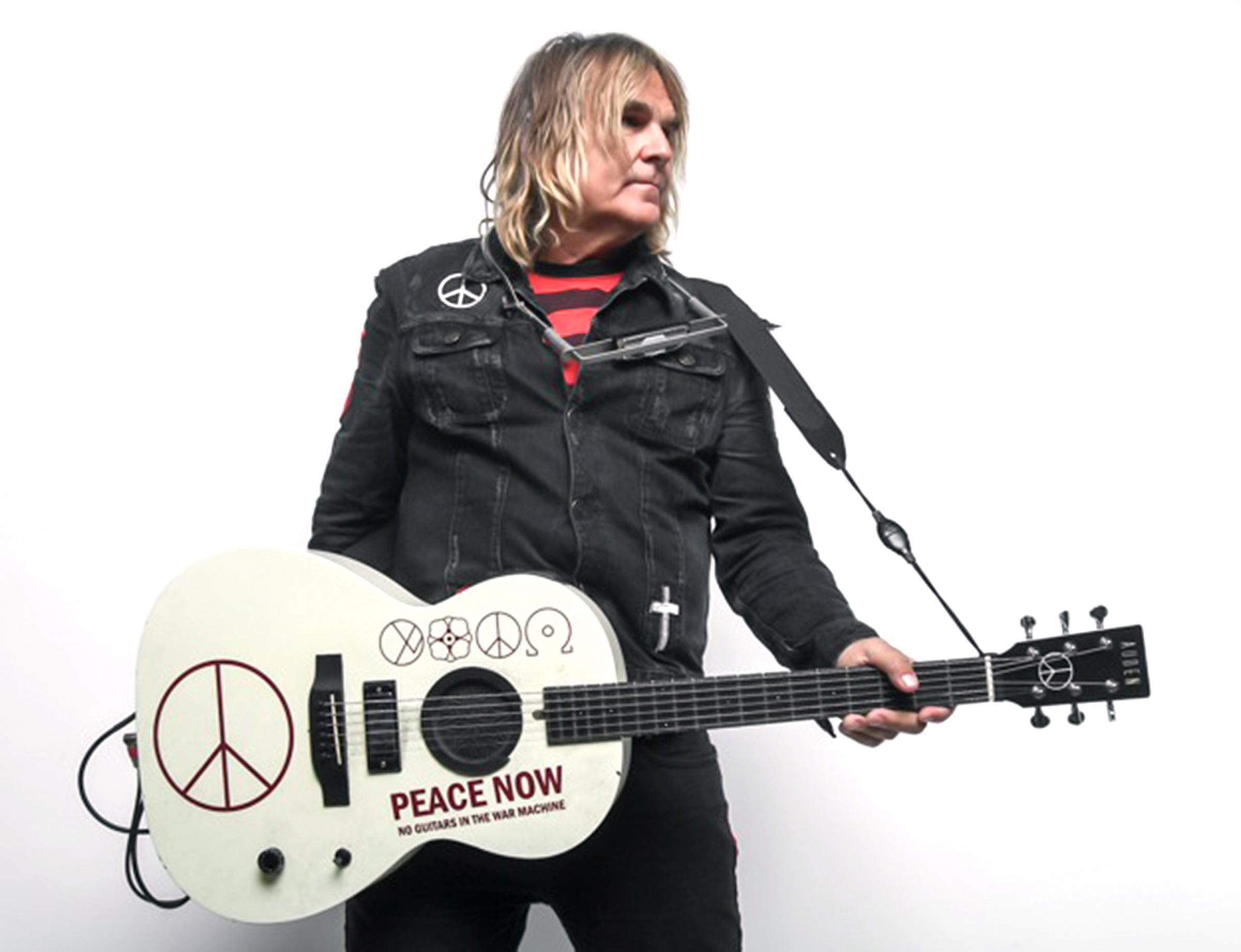 Mike Peters from The Alarm heading back west