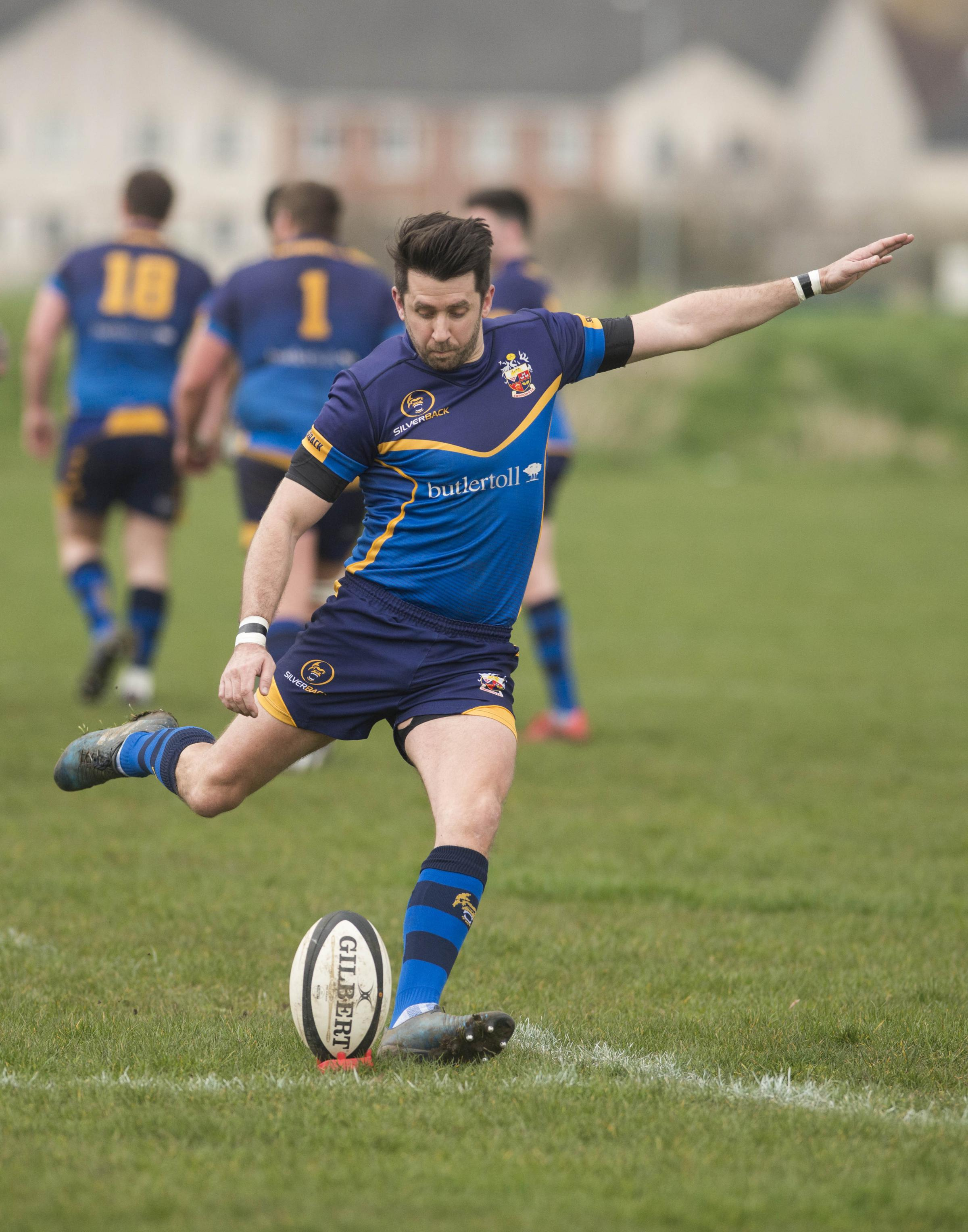 Swindon Rugby v Bicester.Pictured Swindon - Adam Westall.07/04/18.Pictures Clare Green/ www.claregreenphotography.com.