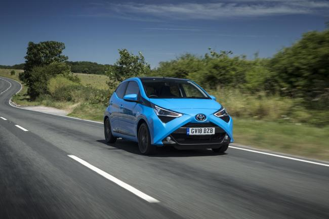 Toyota Aygo is an all round city car