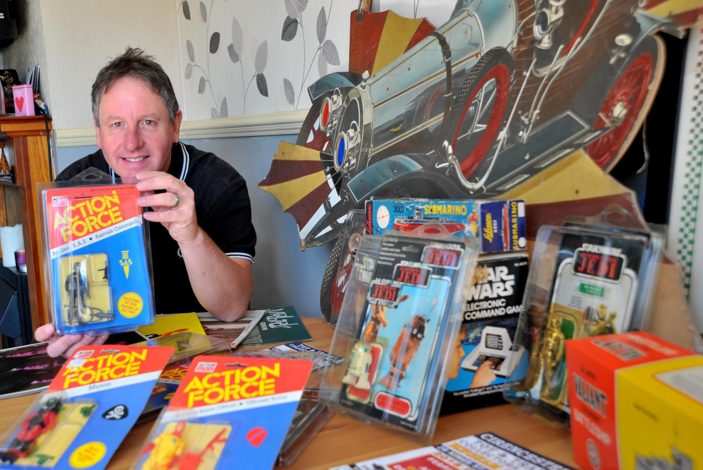 Ronnie Davies loves buying and selling the toys and memorabilia of yesteryear - but warns those who would follow in his footsteps that making a living from it takes a lot more time and dedication than certain TV shows would have us believe