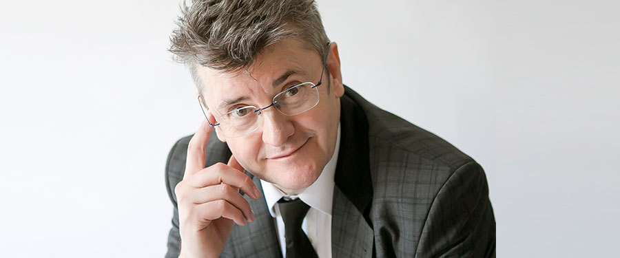 Joe Pasquale at the Wyvern Theatre