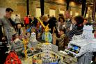 Pic by Dave Cox.Great Western Brick Show at Steam organised by Steam and Lego..Pic - gv.Date 4/10/14.