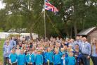 The 1st Sea Scouts on a recent activity camp
