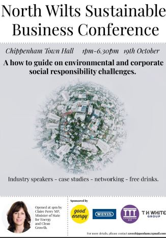 North Wiltshire Sustainable Business Conference 2018