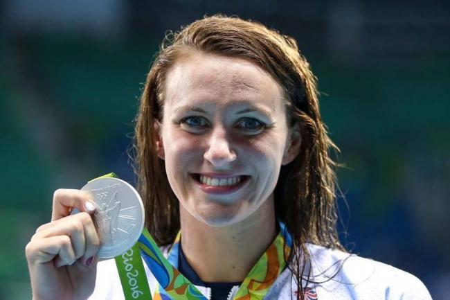 Double Olympic silver medallist Jazz Carlin..
