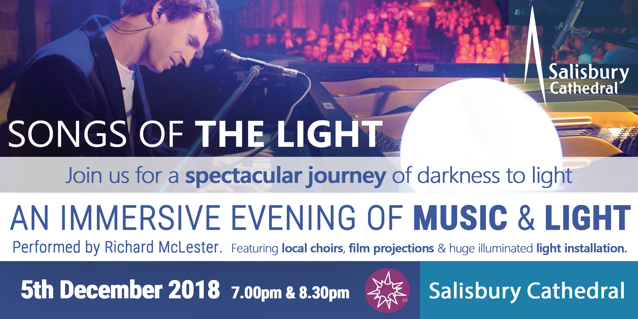 Songs Of The Light: Live Concert at Salisbury Cathedral
