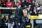 Steven Gerrard on the touchline during the defeat to Livingston