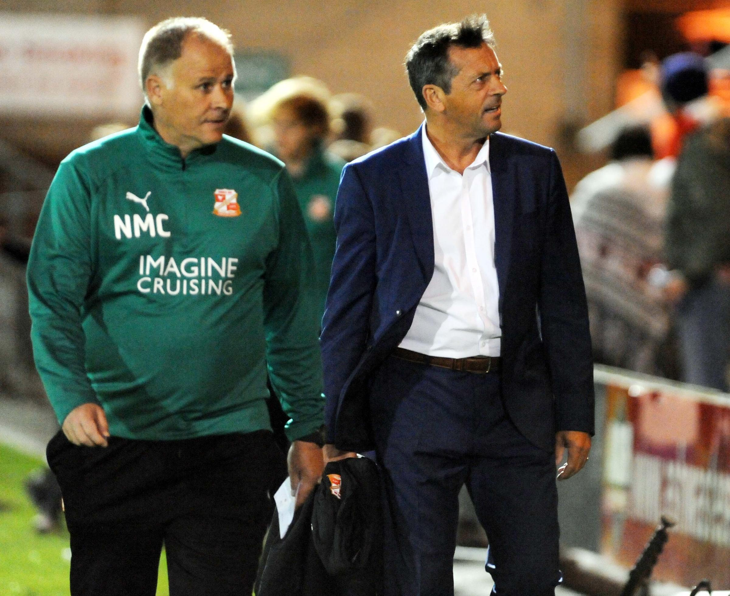 VIDEO: Phil Brown on Crewe 1 Swindon Town 0