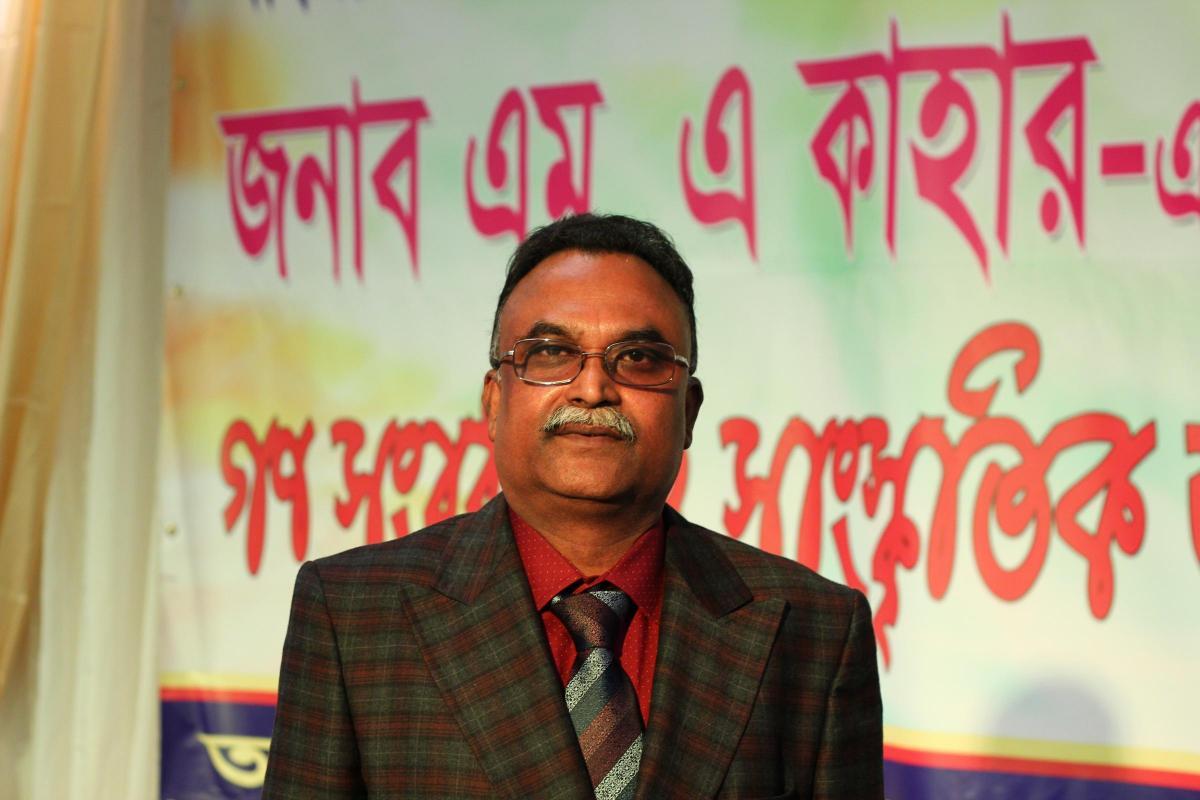 Abdul Kahar Elected President Of Swindons Bangladeshi Association