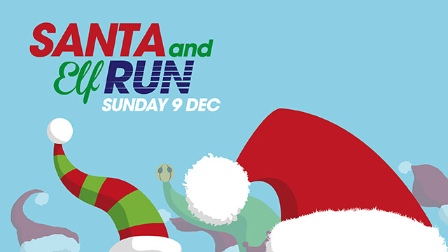 Santa and Elf Run for Dorothy House