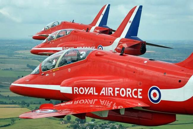 Red Arrows file image