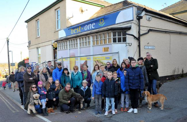 bb9a41a0 Villagers start petition to reclaim shop after Co-op leaves it empty for  two years