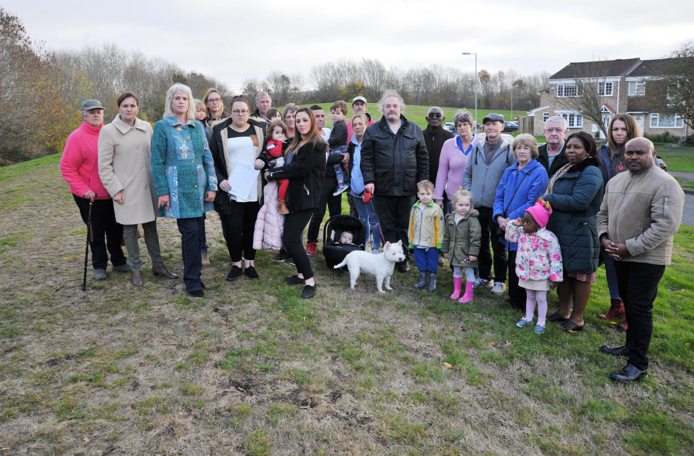 Don't ruin our green Jewel' say worried Toothill residents | Swindon