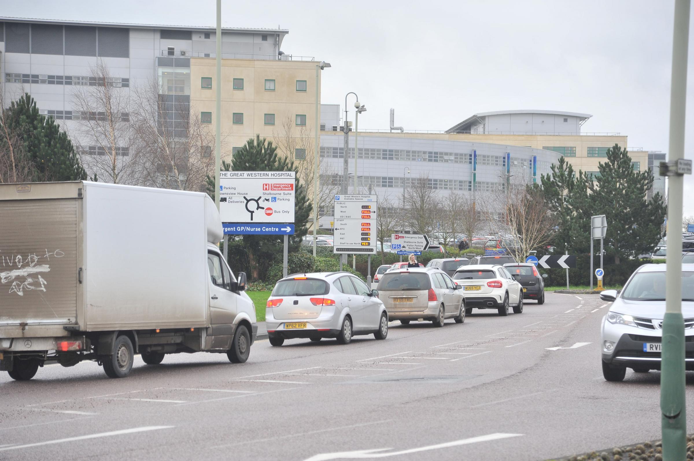 Traffic updates for Swindon on Friday morning