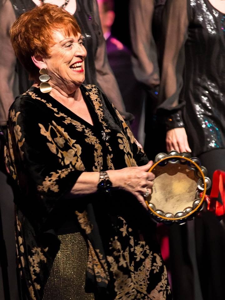 Sheila Harrod from Kentwood Show Choir Picture: milsom321@btinternet.com