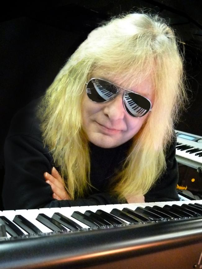 Mark Stanway, former keyboard player with Magnum now with Kingdom of Madness