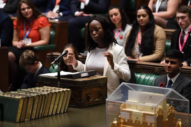 Debate - the Youth Parliament MPs discuss knife crime in the House of Commons