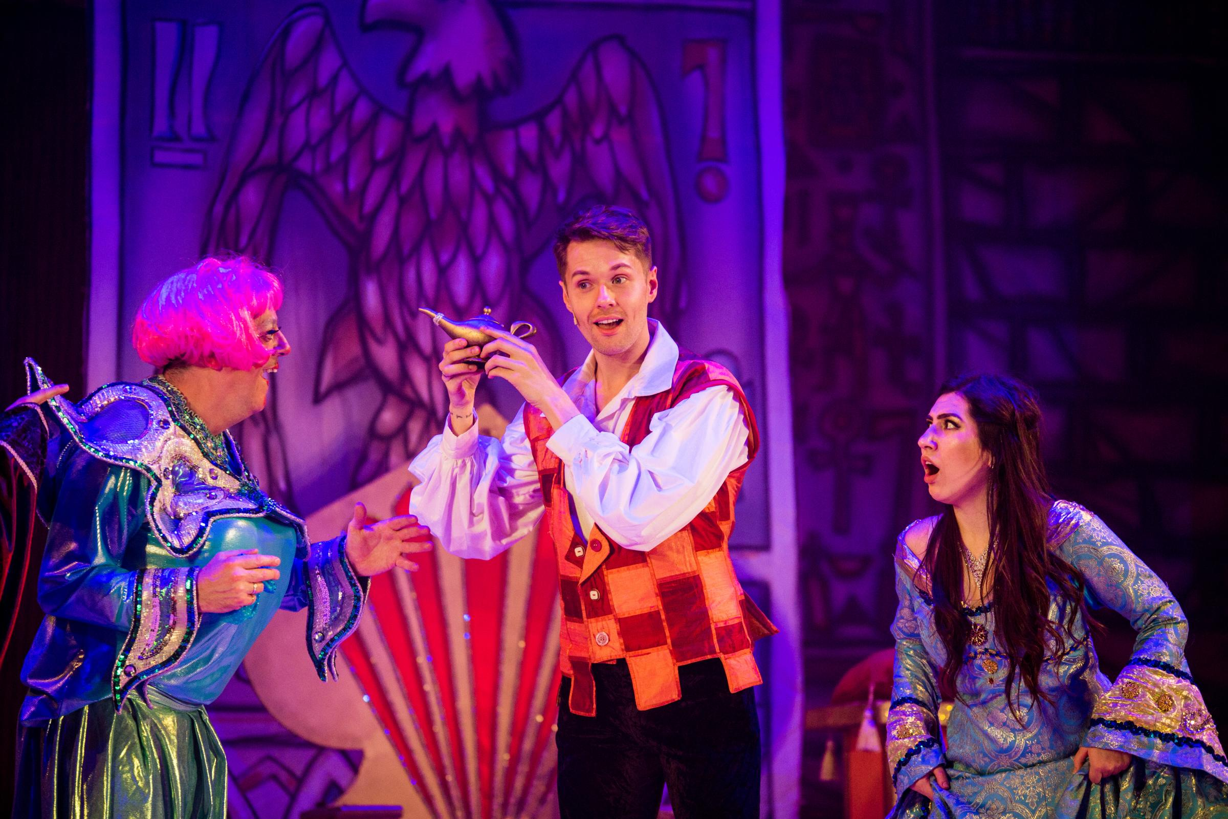 Panto time at Swindon's Wyvern Theatre Pictures by Anthony Hunt Photography