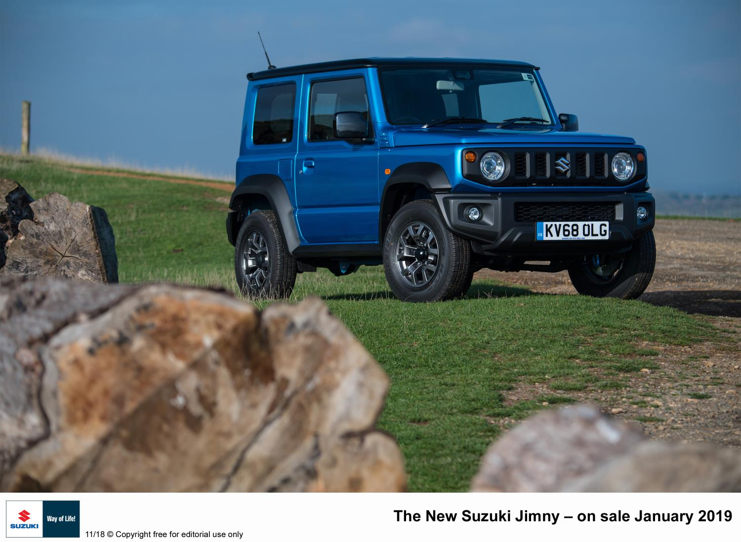 Move over Rudolph - Jimny power beats reindeer power
