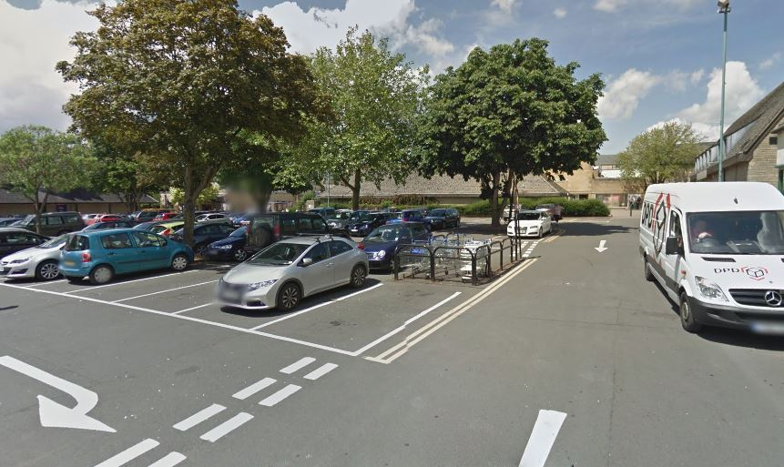 Police say a group of men were fighting in the Brewery Car Park, Cirencester. Picture: GOOGLE