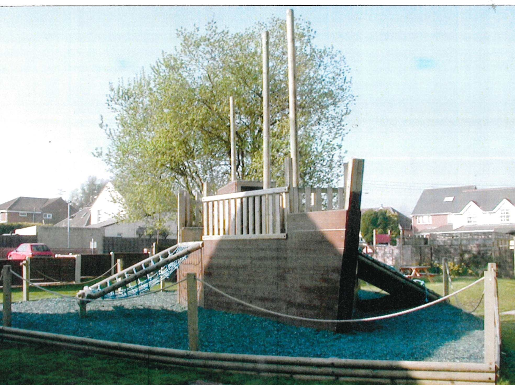 The Patriot's Arms boat, photographed by the Advertiser in 2003. The boat has been put up for sale on eBay.