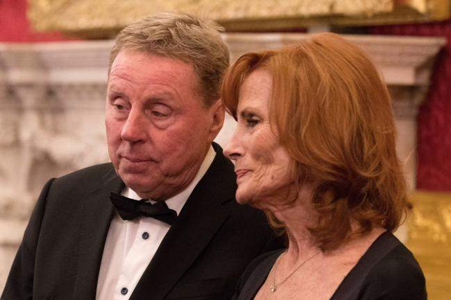 Harry Redknapp and his wife Sandra
