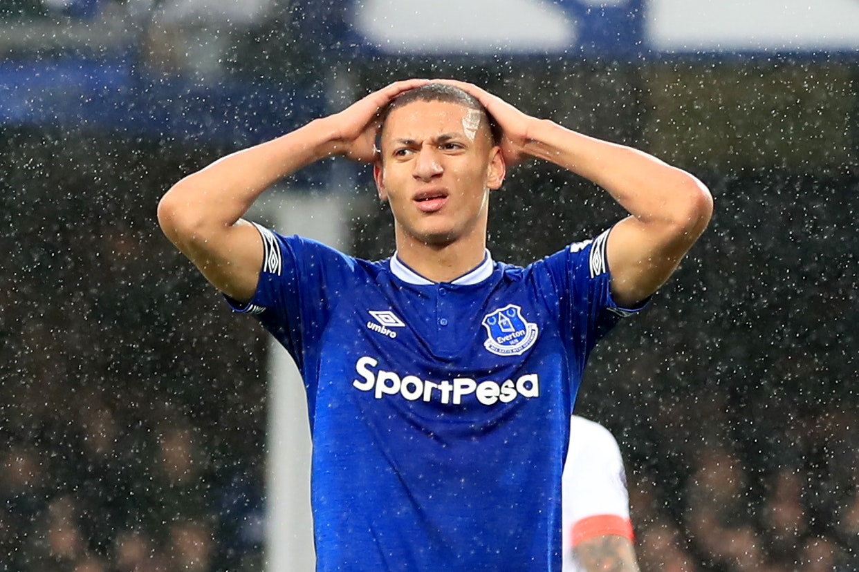 Richarlison will continue to play up front despite his lack of recent goals.