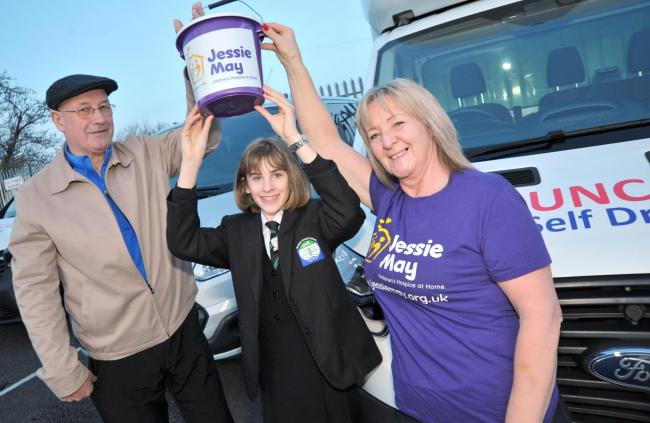 Swindon teen asks for donations to Jessie May charity instead of