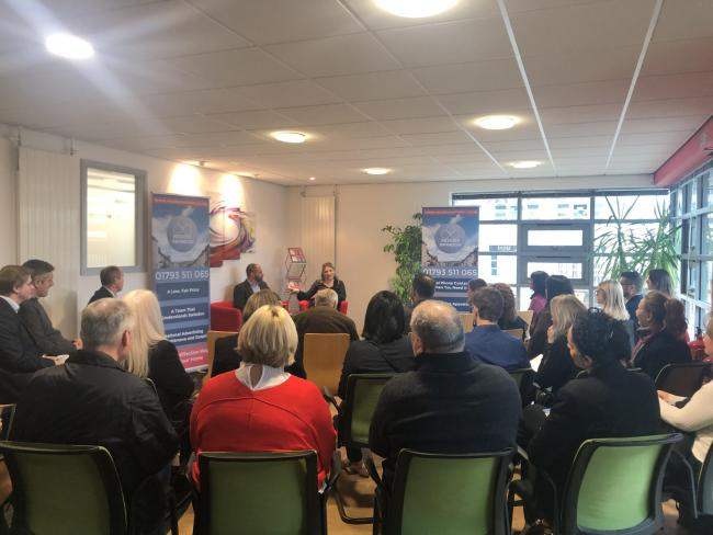 The launch of Resides Swindon at the Basepoint Business Centre