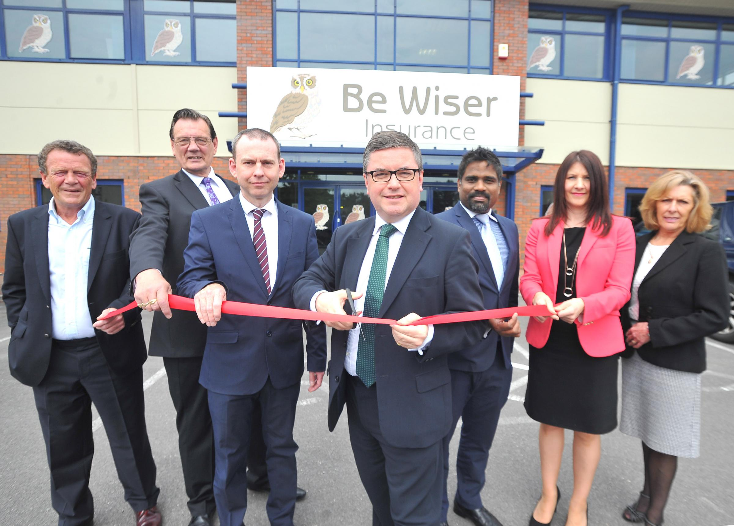 One of the UK�s fastest growing and largest privately owned insurance brokers, Be Wiser, has decided to open its new office in Swindon, creating 350 jobs over the next three years. Join the company, along with local councillors and MP Robert Buckl