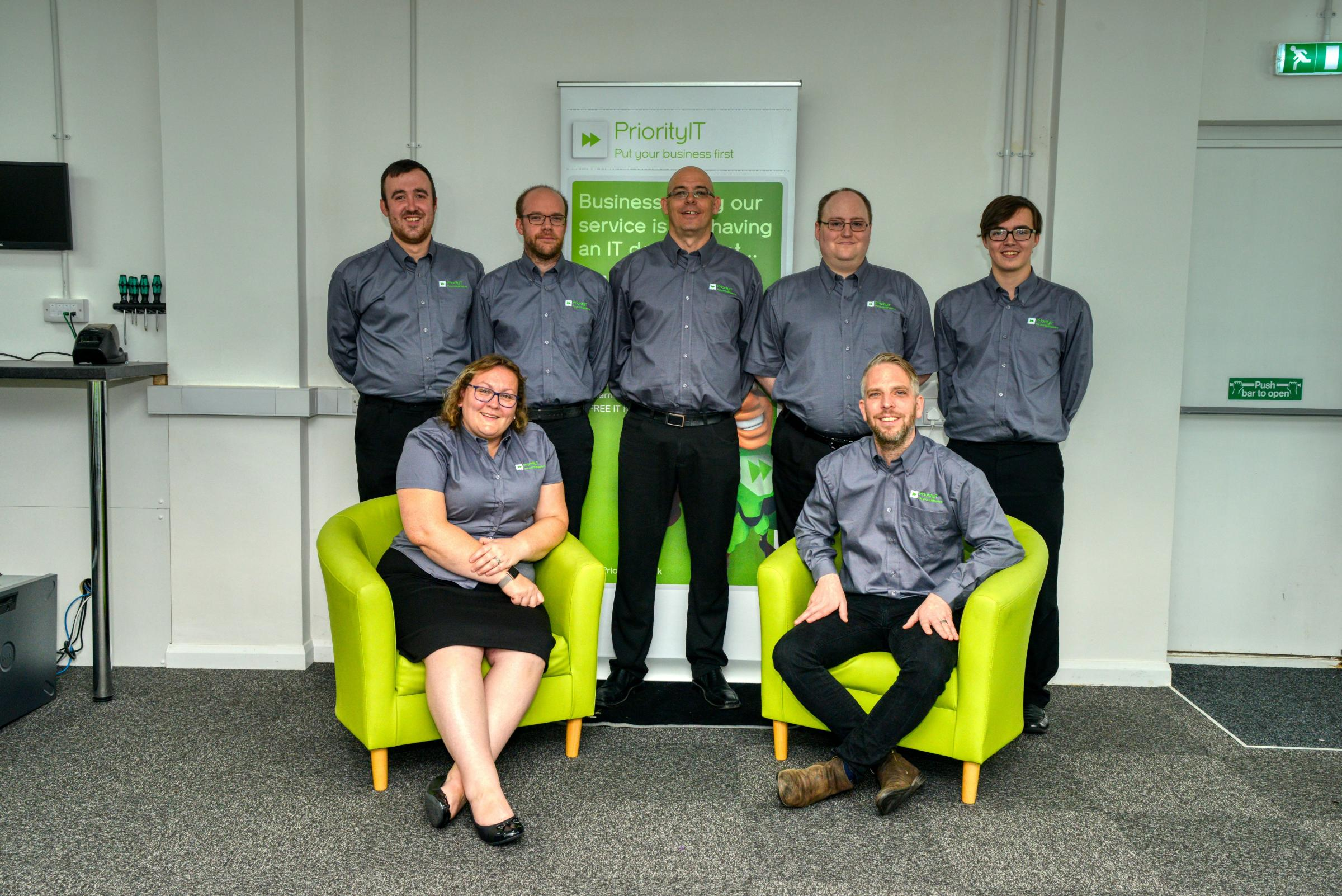 The team at Priority IT